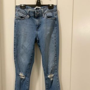 Paige jeans size 27 but fit like a size 24